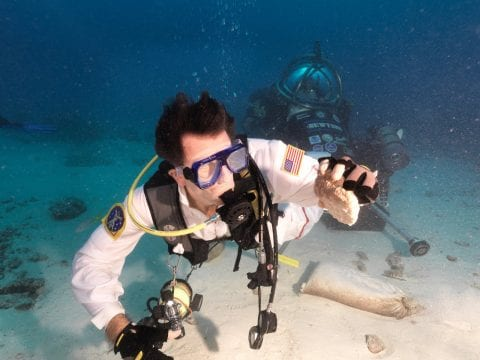 NASA NEEMO mission aquarius reef base NASA space photo documentarian
